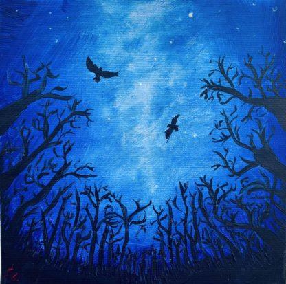 hollók szállnak az éjszakában