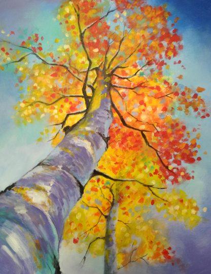 Fa őszi színekben
