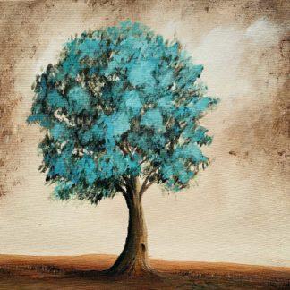 zöld lombú fa