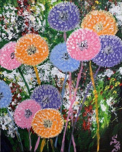 gyermekláncfű virág több színben