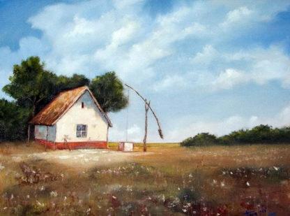 Vidéki tájkép