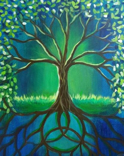 Élet fája festmény