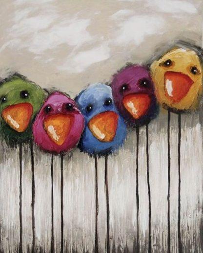 madarak egymás mellett