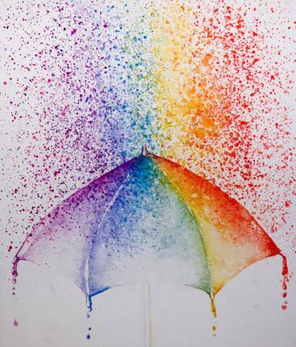 szivárványszínű eső