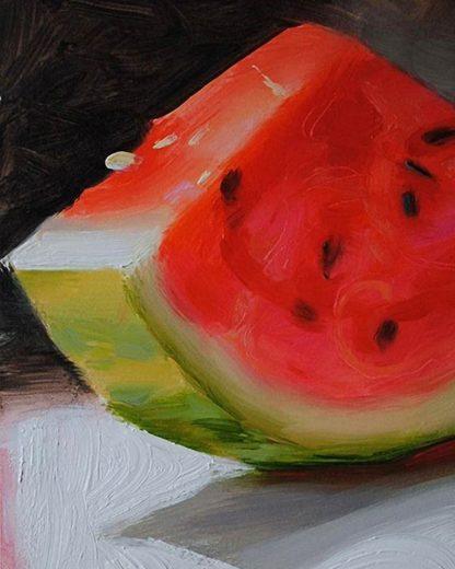 dinnye olaj festmény