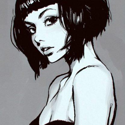 Lány portré