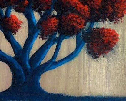 Fa vörös lombokkal