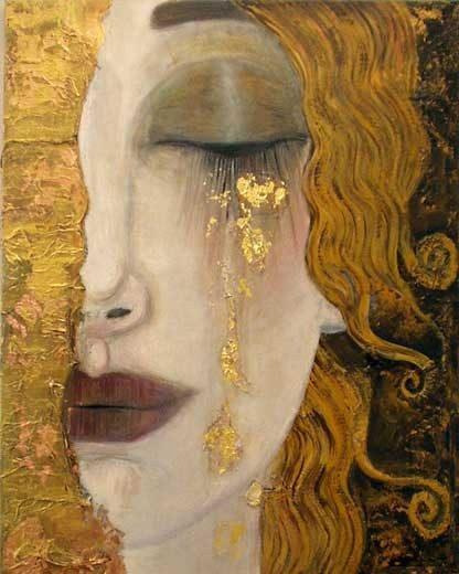 Gustav Klimt - Arany könnyek
