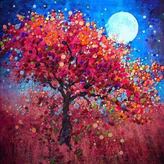 fa az éjszakában