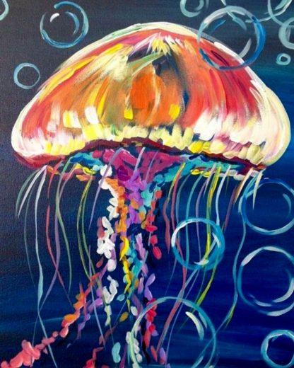 színes medúza