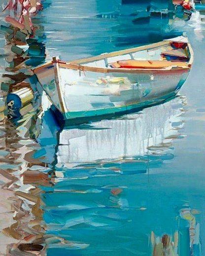 Csónak a vízen
