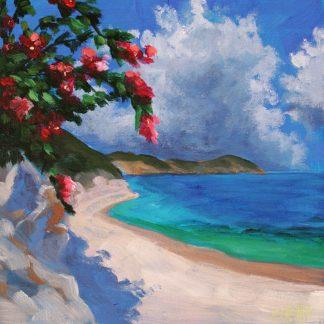 tengerparti látkép