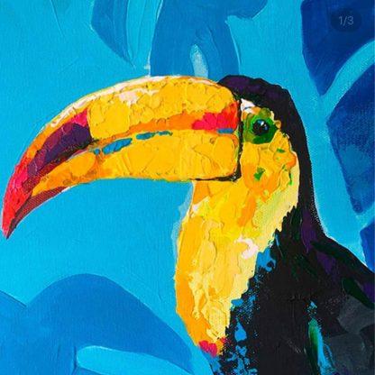 nagy csőrű madár