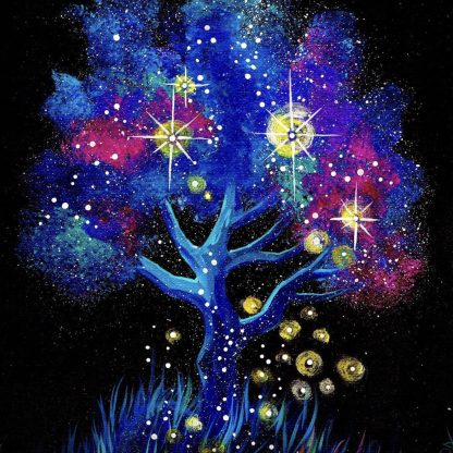 színes fa