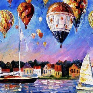 hajók a vízen, léghajók a levegőben