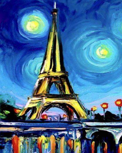 Eiffel torony éjszaka