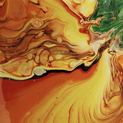 fluid art technika