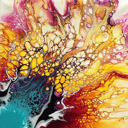 fluid art festés