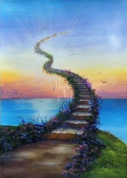 égbe nyúló lépcső