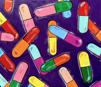 színes gyógyszerek