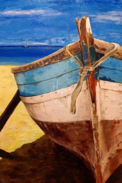 csíkos csónak