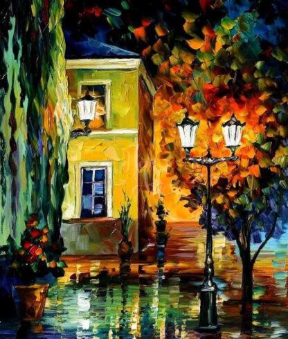 éjszakai utcakép