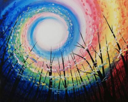 színes égbolt
