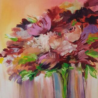 a kép tartalma színes virágcsokor