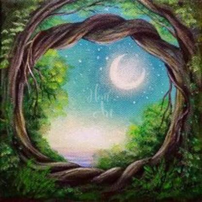 hold és fa
