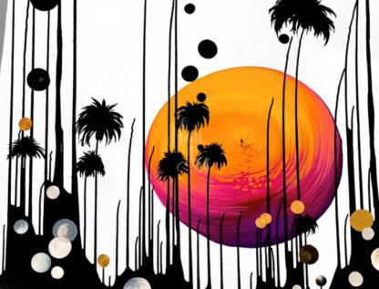 nap és pálmafák