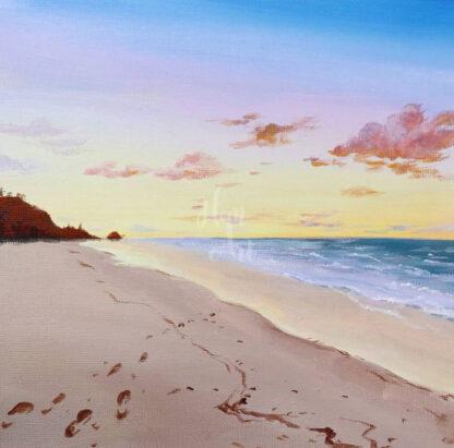 homokos tengerpari tájkép