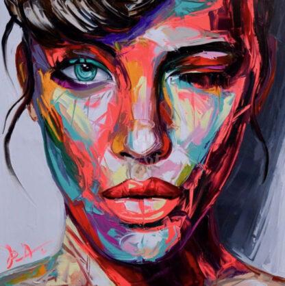 színes portré