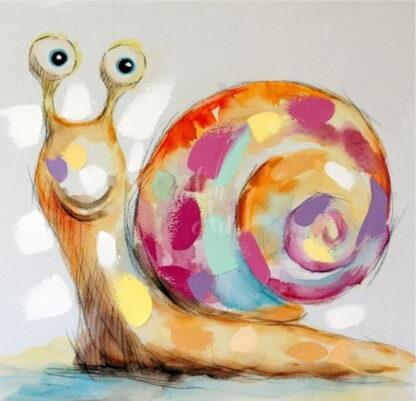 a kép tartalma: színes csiga