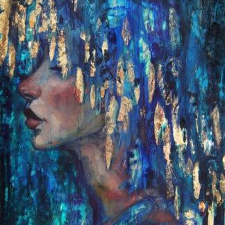 a kép tartalma: női arc, színes haj, arany haj