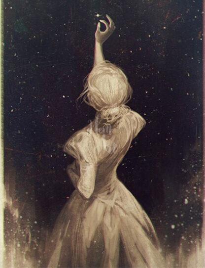a kép tartalma: nő, csillag