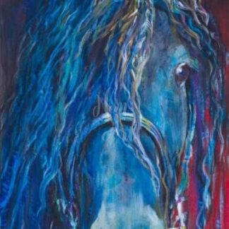 a kép tartalma: ló portré