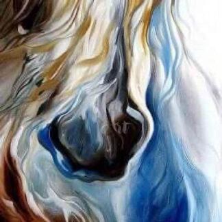 a kép tartalma: ló orr