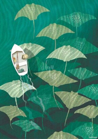 a kép tartalma: víz, ráják, csónak